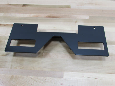 *New* Edge mount Double Storage dock for quick change top plates.