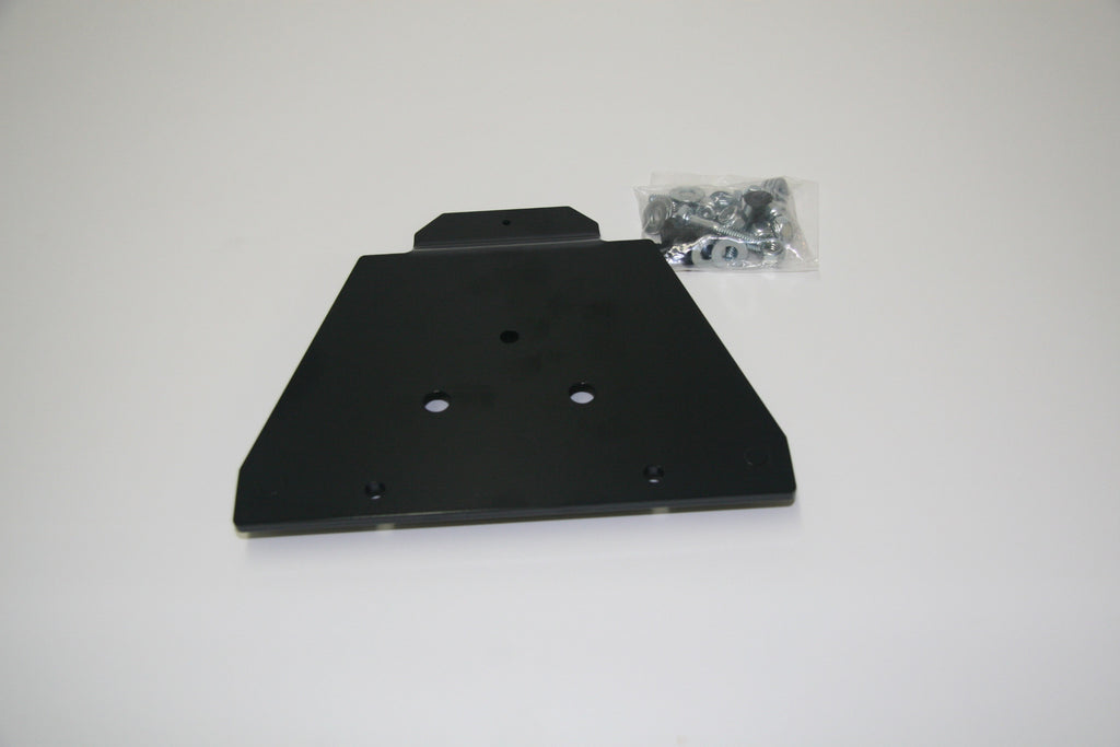Quick change system top plates