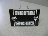 Zombie Outbreak Response Vehicle Hitch Cover