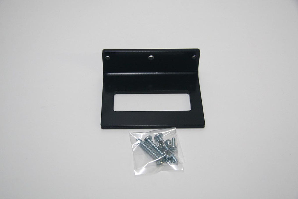 Storage dock for quick change top plates.  Single