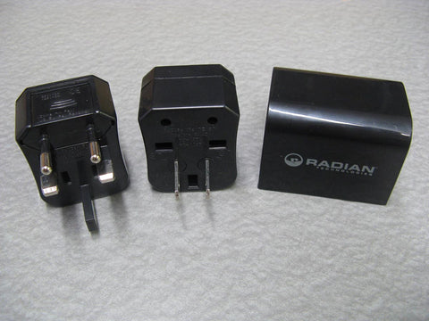 International power plug adapter kit.