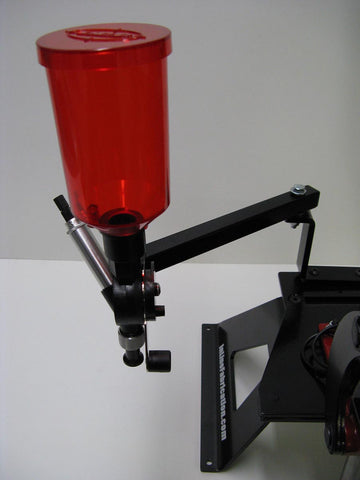 Articulating arm for the LEE Perfect powder measure