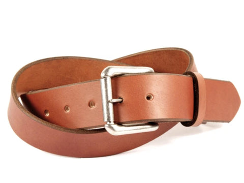 Handmade Plain Leather Belts