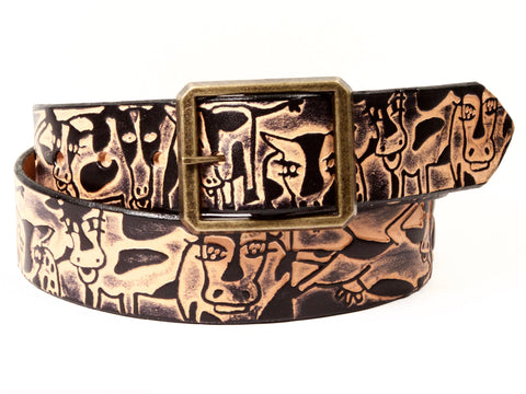 Cows Leather Belt