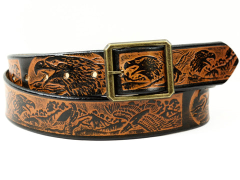 American Eagle Leather Belt