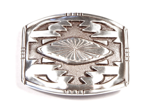 """Southwestern Symmetry"" Theme Belt Buckle"