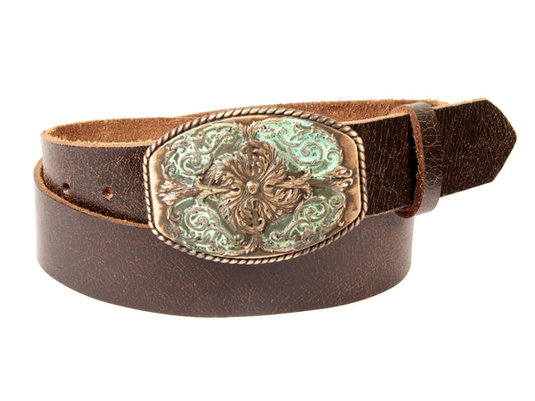 """Secret Garden"" Theme Buckle/ Belt Combination"