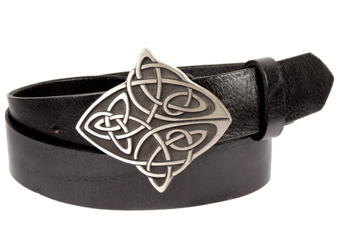"""Celtic Cross"" Theme Buckle/ Belt Combination"