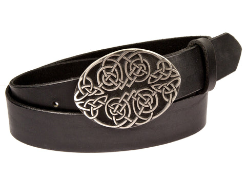 """Celtic Knot"" Theme Buckle/ Belt Combination"