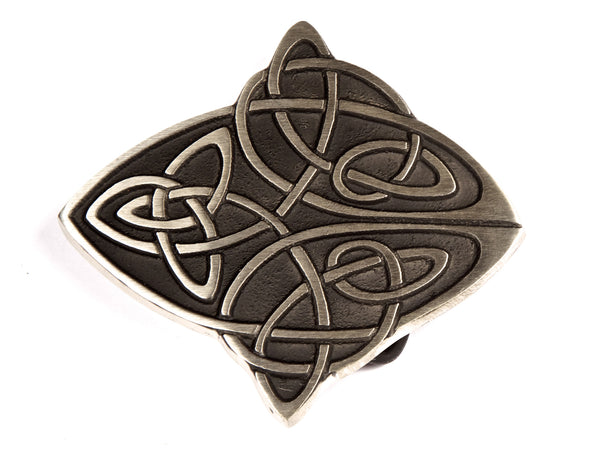 "Handmade ""Celtic Cross"" Belt Buckle"