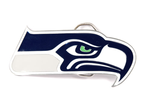 """Seahawks NFL"" Theme Belt Buckle"