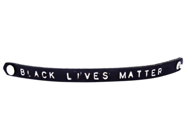 BLM Leather Wristband (profits donated to Black Lives Matter)