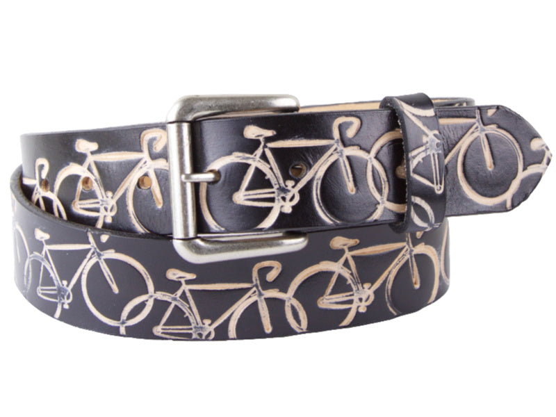 brass buckle as part of bicycle chain Buckle for leather belt. CHAIN Handmade buckle
