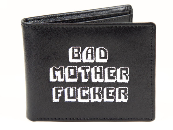 Bad Mother F*cker Bi-Fold Wallet-Black
