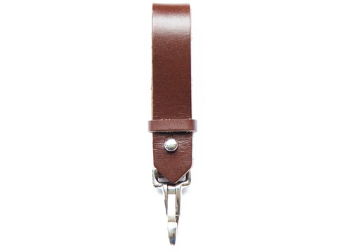 Handmade Leather Utility Key Fob