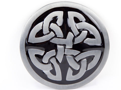 """Celtic Shield"" Theme Belt Buckle"