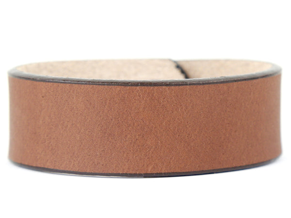 "Handmade Leather Wristband-""La Rubia"""