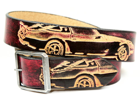 "Handmade Leather Belt-""Stylo"""