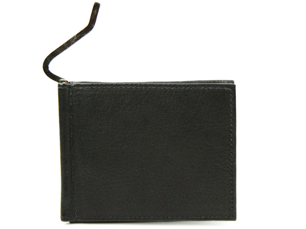 "Handmade ""Deluxe Leather Bi-fold Money Clip Wallet"""