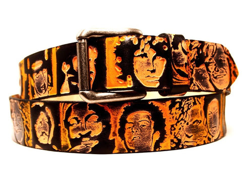Dead Rockstars Leather Belt