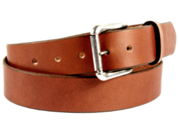 "Handmade Leather Belt-""La Rubia''"