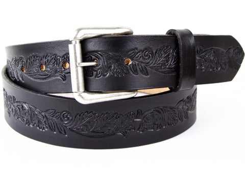 Hops 'n' Vines Leather Belt