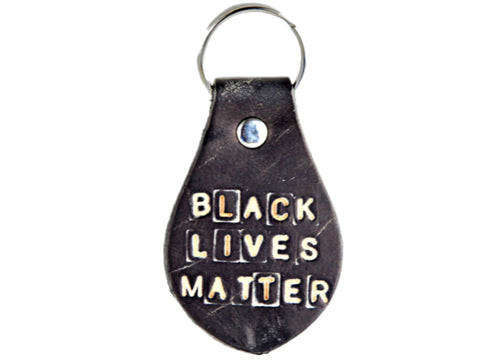BLM Leather Key Chain (profits donated to Black Lives Matter)