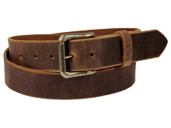 "Handmade Leather Belt - ""Sandstone Pull-Up"""