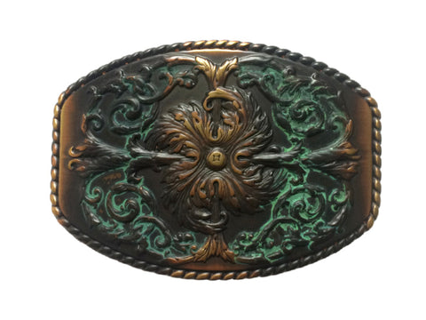 """Secret Garden"" Theme Belt Buckle"