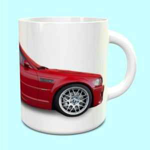 BMW M3 E46 Mug in Red
