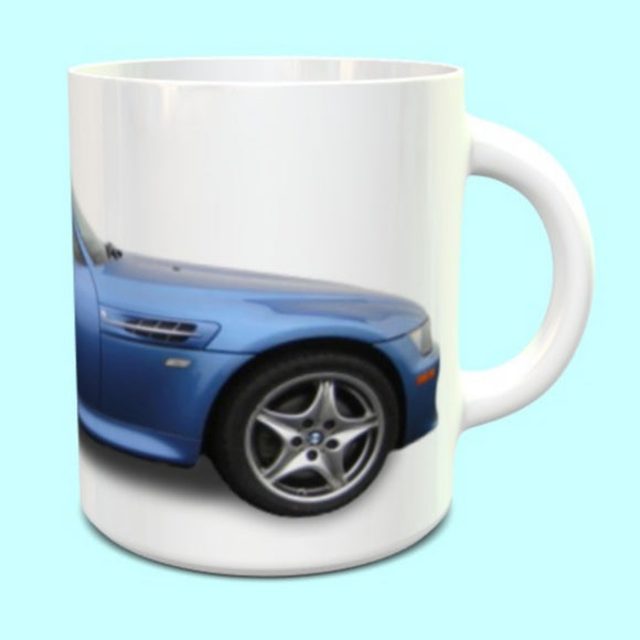 BMW Z3M Coupe Estoril Blue Mug