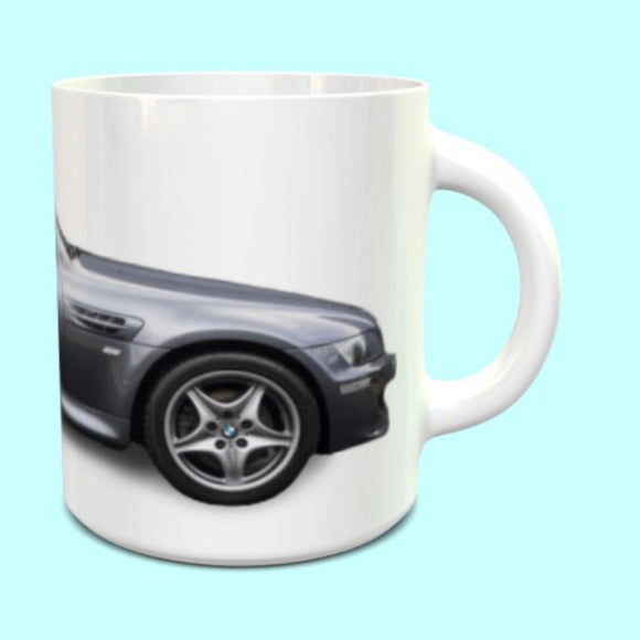 BMW Z3M Coupe Mug in Grey
