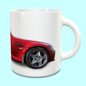 BMW Z3M Coupe Mug in Imola Red