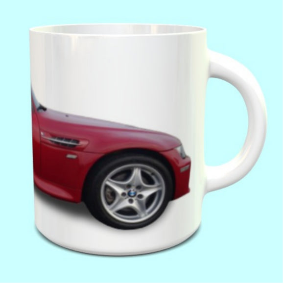 BMW Z3M Roadster Mug in Red