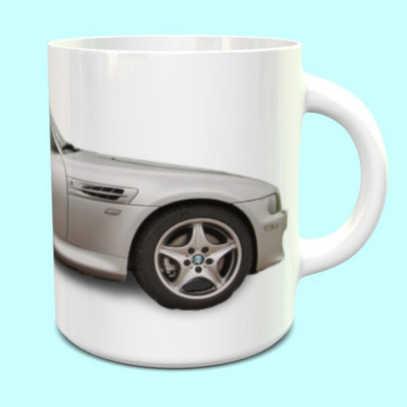 BMW Z3M Roadster Mug in Silver