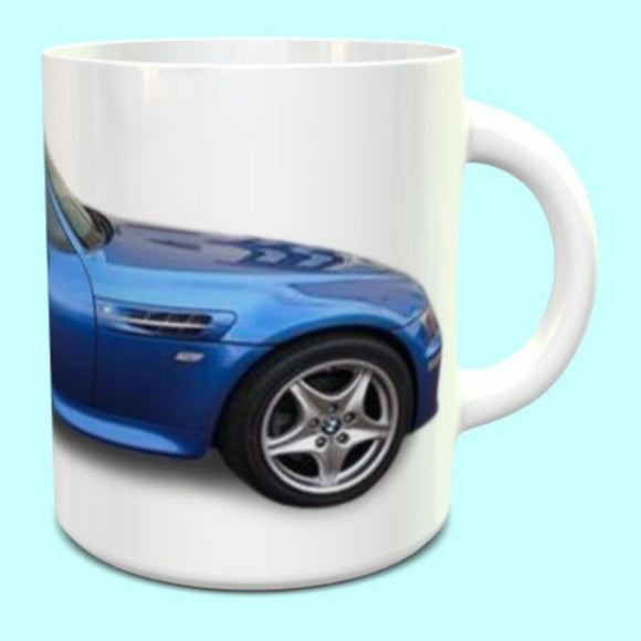 BMW Z3M Roadster Mug in blue