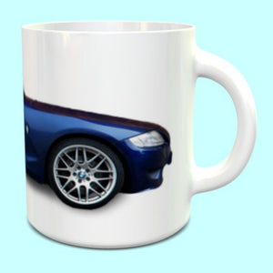 BMW Z4M Coupe Mug in Interlagos Blue