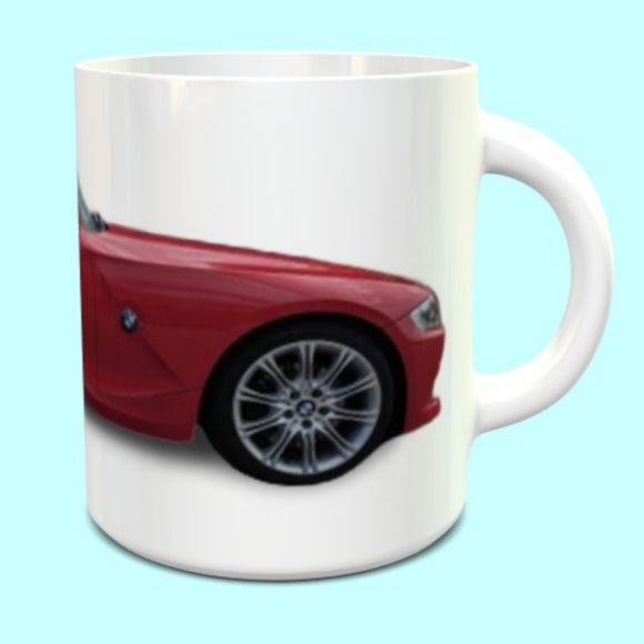 BMW Z4M Coupe Mug in Red