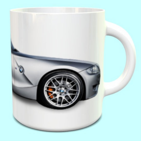 BMW Z4M Coupe Mug in Silver
