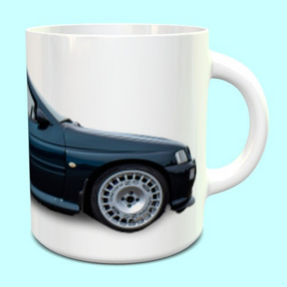 Ford Escort Cosworth RS Mug in Mallard Green
