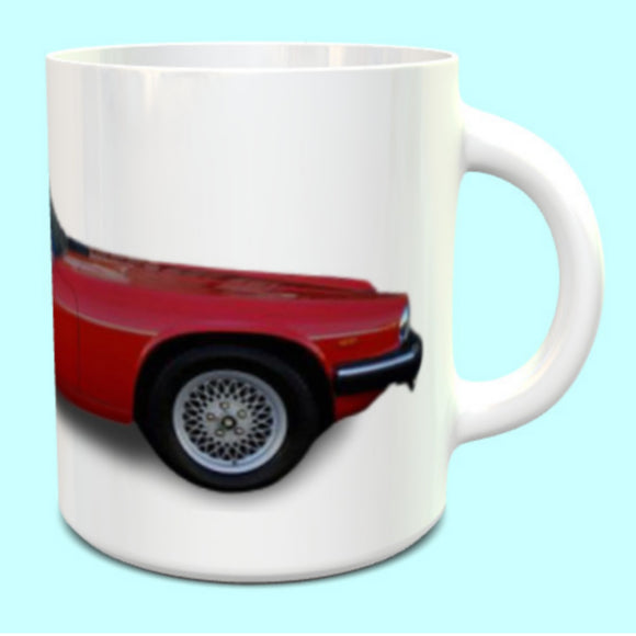Jaguar XJS Convertable Red Mug