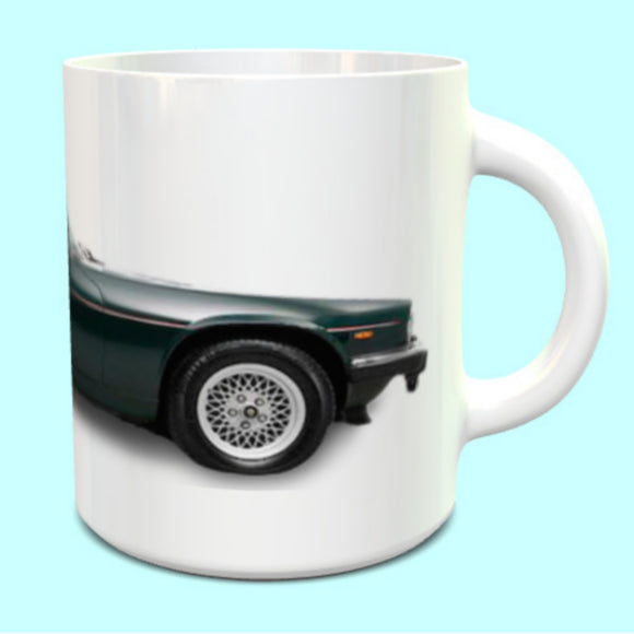 Jaguar XJS Coupe Green Mug