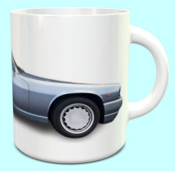 Jaguar XJS  R Coupe Aqua Blue Metallic Mug