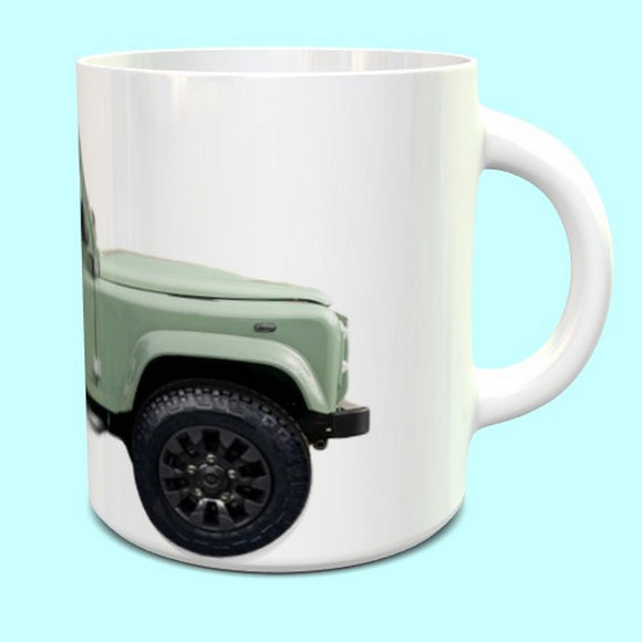 Land Rover Defender 90 Utility Mug  Green