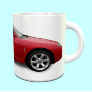MG TF Mug In Red