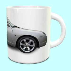 MG TF Mug in silver