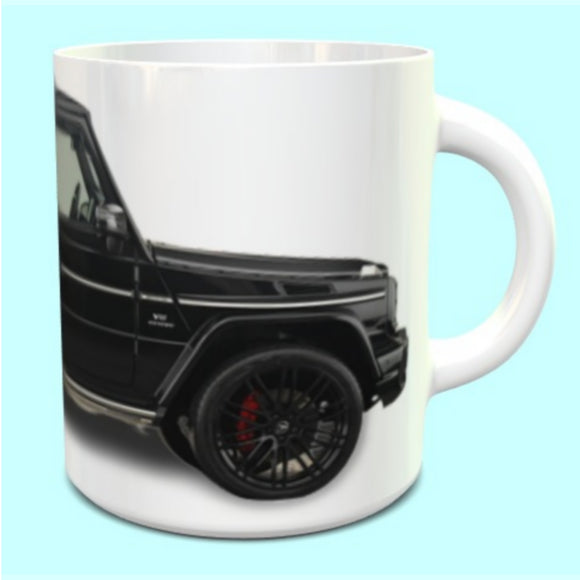 Mercedes-Benz G Wagon Mug in Black