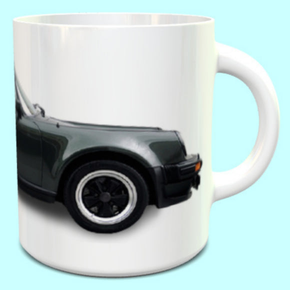 Porsche 911 930 Carrera Turbo Mug in Black