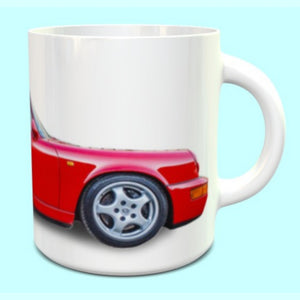 Porsche 911 964RS Mug Guards Red