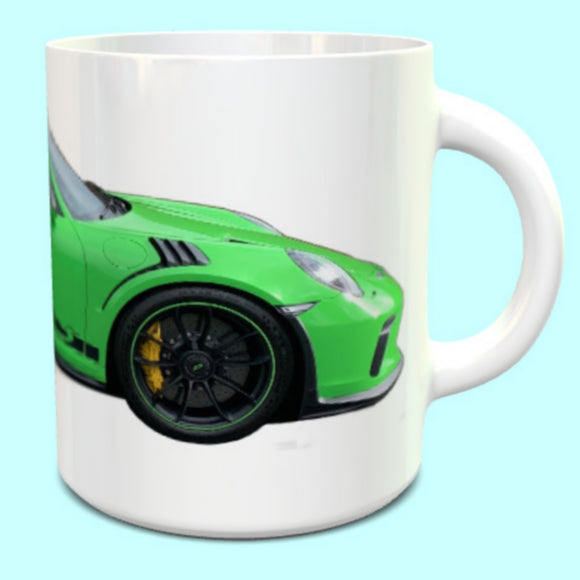 Porsche 911 991.2  GT3RS Mug Lizard Green